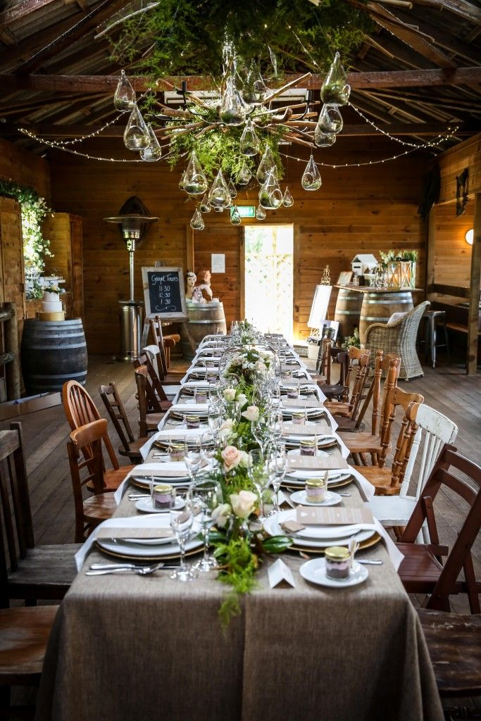 wedding reception venues melbourne cbd%0A Shearing shed at ace hi wedding set up
