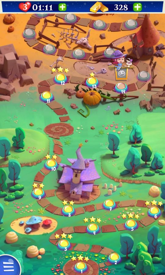 121 best maps images on pinterest game design game background and bubble witch 2 by king map pause screen match 3 game ios game android gumiabroncs Choice Image