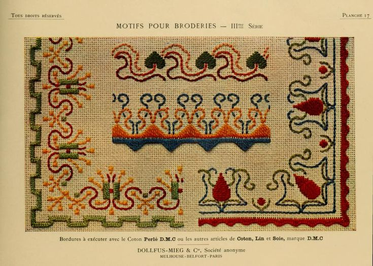 Motifs pour broderies. (IIIme série) No. 17