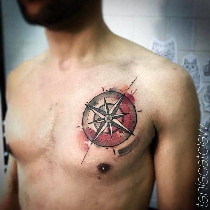 30 Best Compass Tattoo Images On Pinterest