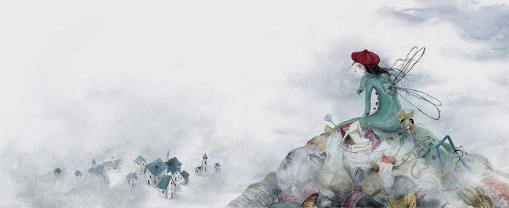 """Carolina Schütte illustration for """"Los Restos del Mundo""""."""
