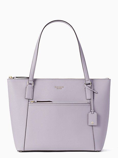 40ce3f3a5 Kate Spade Cameron Pocket Tote, Icy Lavender | Products in 2019 ...