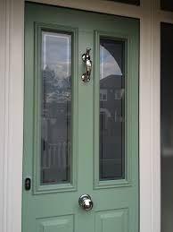 Solidor In Charwell Green Victorian Front Door With Sea Urchin Handle!