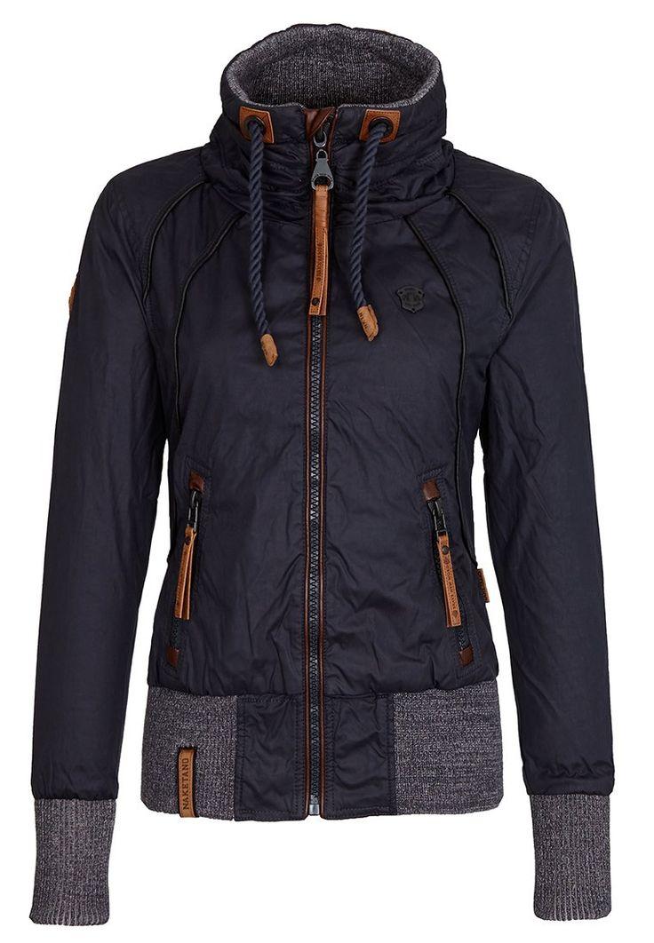 Naketano Women's Jacket Schlagerstar III (S, Dark Blue)