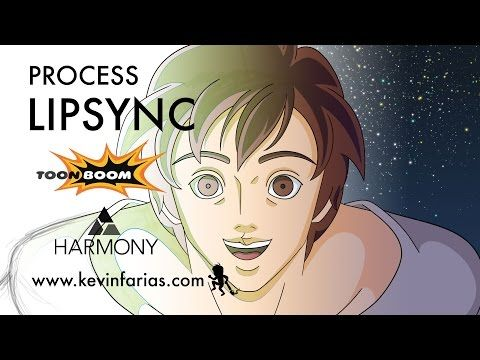 Lipsync - Animation Process in Toon Boom Harmony | Kevin Farias - YouTube