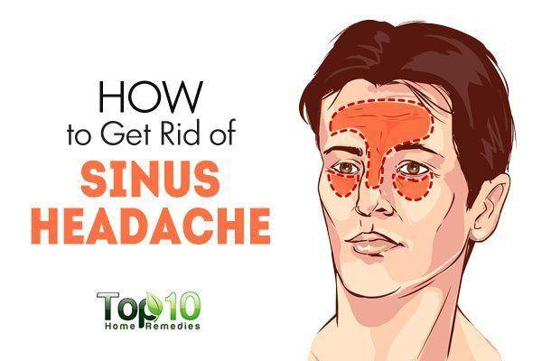 How To Get Rid Of A Sinus Cold Headache