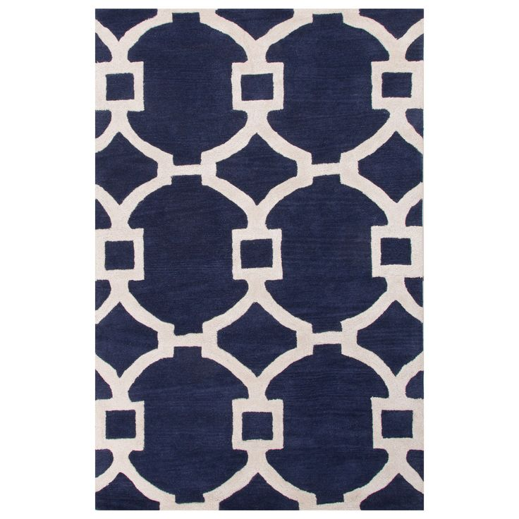 Jaipur City Regency Medieval Blue Hand Tufted Rug @Zinc_Door