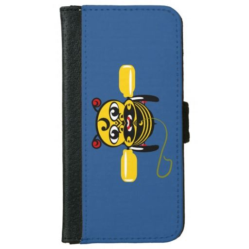 I sold one of these today, always a buzz when my Kiwi designs get noticed. Hei Tiki Bee Toy Maori Design New Zealand iPhone 6 Wallet Case