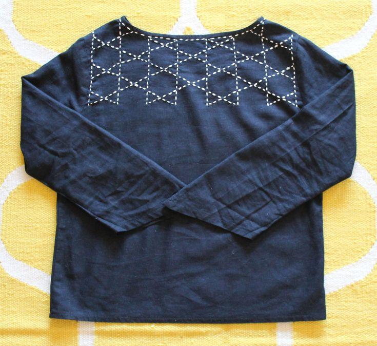 Sashiko | Using sashiko in your garments