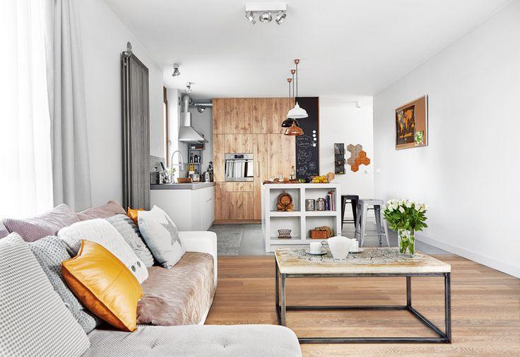 Jak wygląda połączenie stylu scandi z industrialnym? Zobaczcie mieszkanie Magdy i Mariusza - Dom