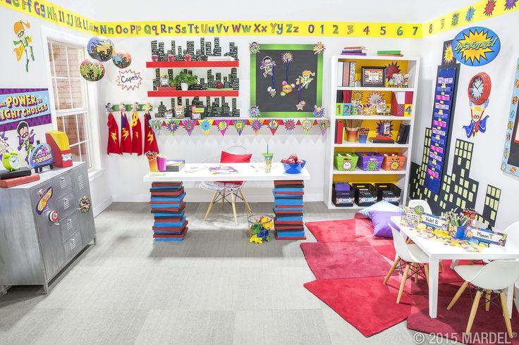 Mardel Classroom Decor ~ Best superheroes classroom collection mardel