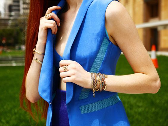 "@CYNICS ACCESSORIES – ""I Am You, You Are Me"" Campaign - We produced and styled a mock street style campaign photo shoot for Cynics accessories. Shot by Byron Spencer with bloggers as models. The bloggers are Carmen Hamilton of Chronicles of Her, Emily Fang of Little Black Book and Brooke Lazarus of The Topknotter. For more details on the campaign head too - http://bleachpr.com.au/2012/portfolio-bleach-marketing/cynics-i-am-you-you-are-me-campaign.html#"