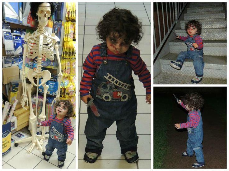 #Halloween #toddler #chucky #costume #childsplay