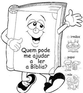Tias da Escolinha - Ministério Infantil: Atividades e Perguntas Bíblicas!!!