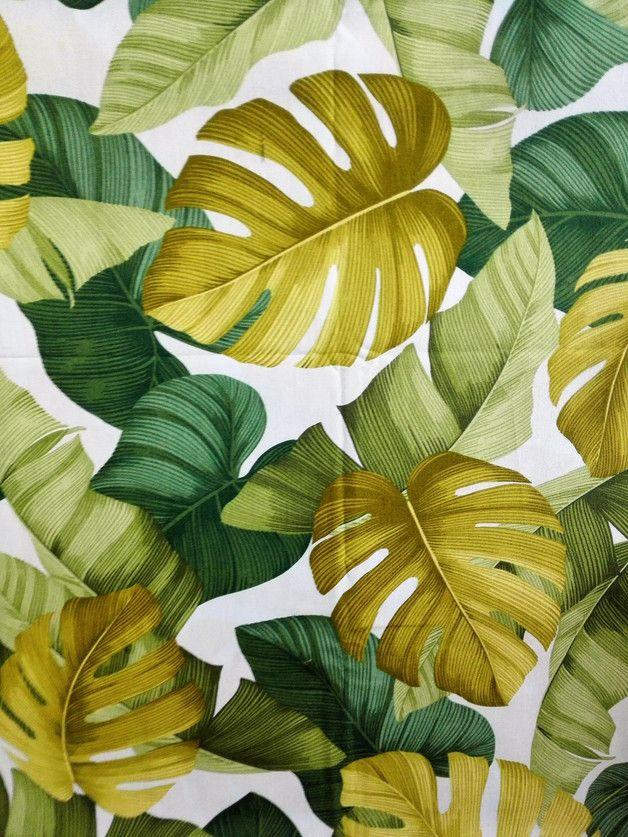 Un motif verdoyant et frais pour votre intérieur ! A retrouver sur DaWanda.com