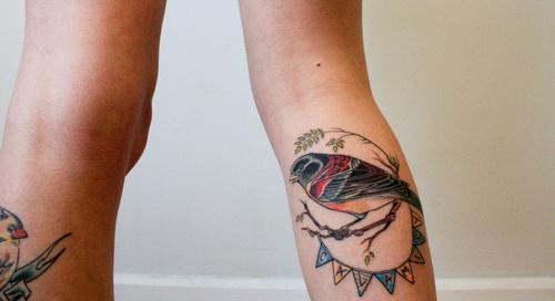.Bird Tattoos, Prayer Flags, Colors Tone, Birds Tattoo, Tattoo Pattern, Buntings, Vibrant Colors, New Friends, Tattoo Ink