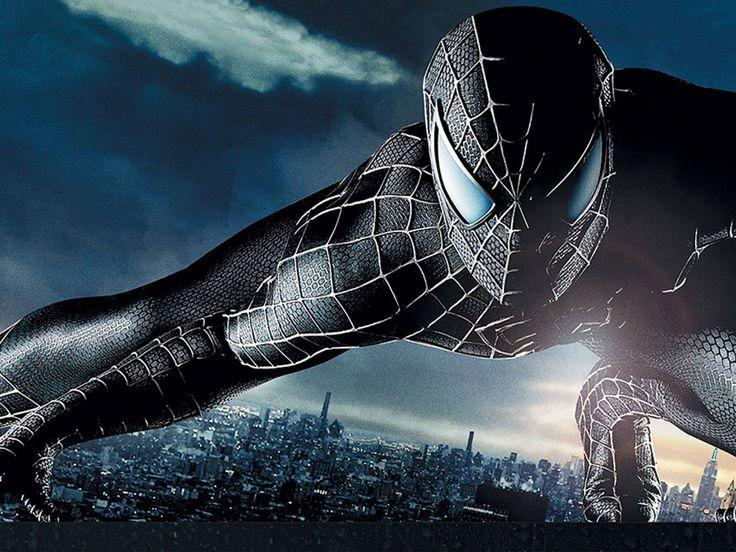 Wallpapers For > Black Spiderman Wallpaper Widescreen Hd