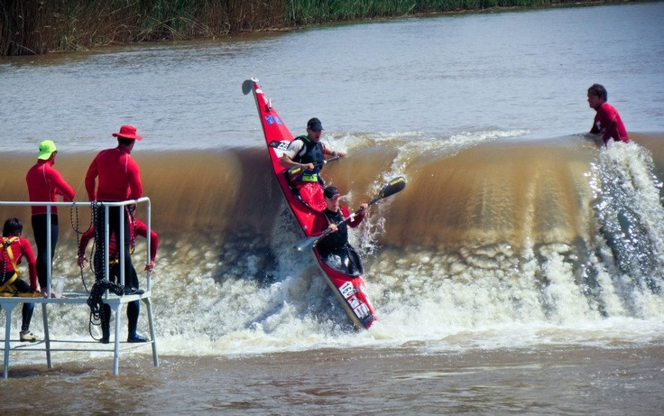 One of the greatest river paddling races in the world - the Hansa Fish River Canoe Marathon. Now we know why  #ThisIsNoVacation