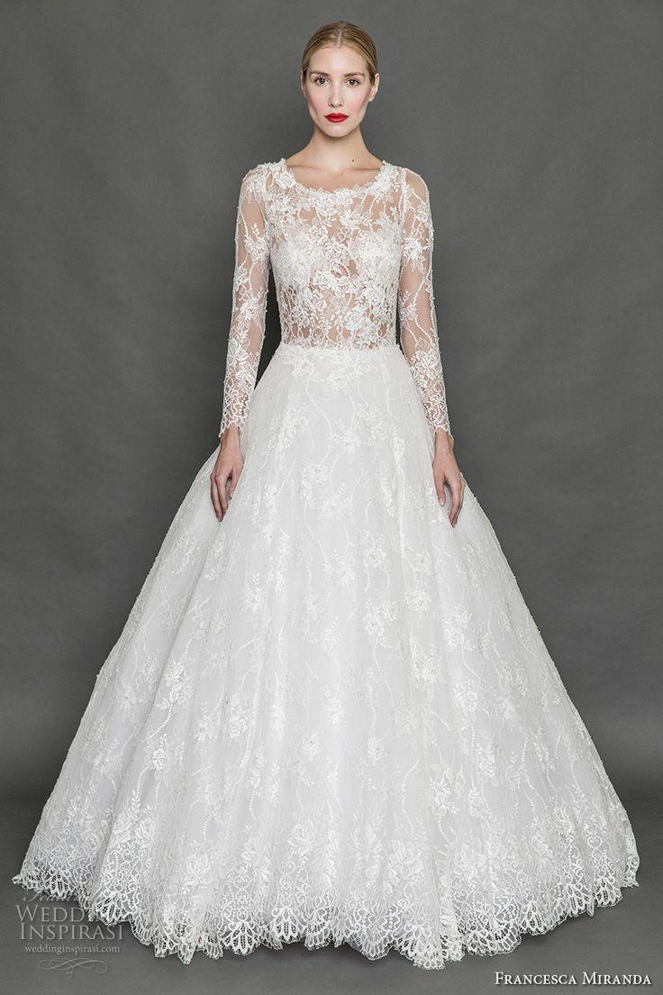 Lovely Francesca Miranda Fall Wedding Dresses
