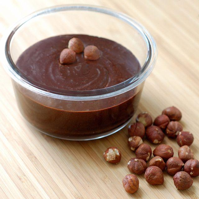 Sjokoladepålegg med hasselnøtter