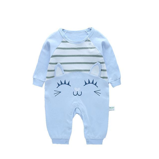 ddc699117 Infant New Born Baby Boy Rompers Baby Girl Rompers Clothes Overalls ...