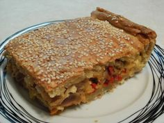 Πιπερόπιτα με κοτόπουλο και τυρένια ζύμη ! ~ ΜΑΓΕΙΡΙΚΗ ΚΑΙ ΣΥΝΤΑΓΕΣ