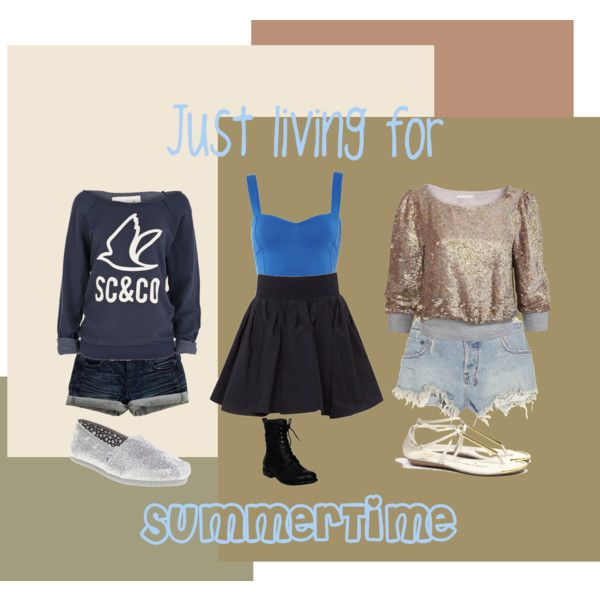 Just livin for summer time(:, created by shae-moore on Polyvore