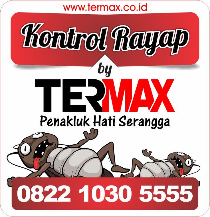 Stiker Controling TERMAX.CO.ID Pembasmi Rayap dan Serangga