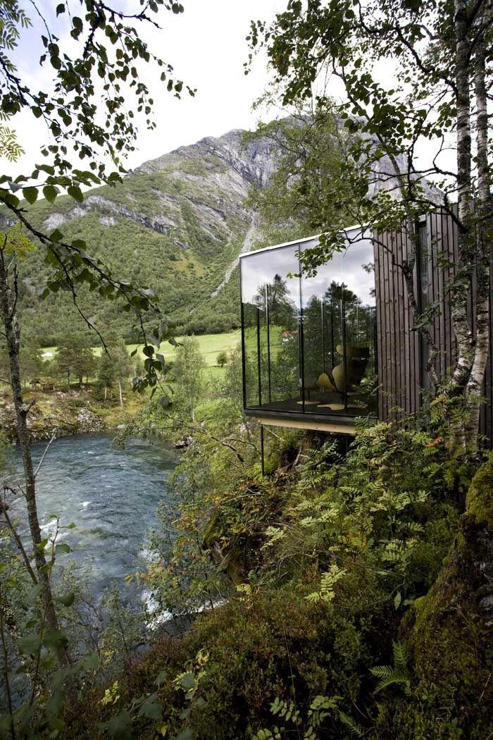 Le Juvet Landscape en Norvège