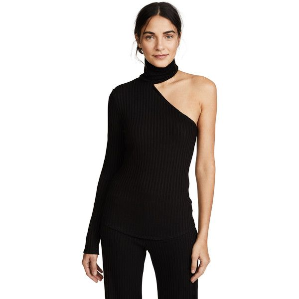 60db1c9b958 The Range Bare Arm Turtleneck (245 BGN) ❤ liked on Polyvore featuring tops
