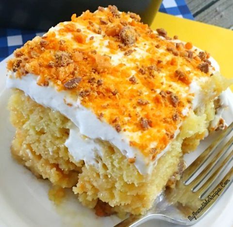 Butterfinger Ecstasy Cake! – Incredible Recipes From Heaven