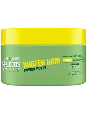 Garnier Power Putty Surfer Hair - I love this stuff :) I use it mainly when my hair is wet, and it gives it incredible volume and texture! You do have to be careful on how much you use though, too much will make it limp and chunky. Smells wonderful :)