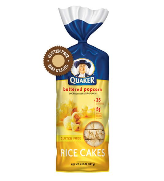 Quaker Oats Buttered Popcorn Rice Cakes