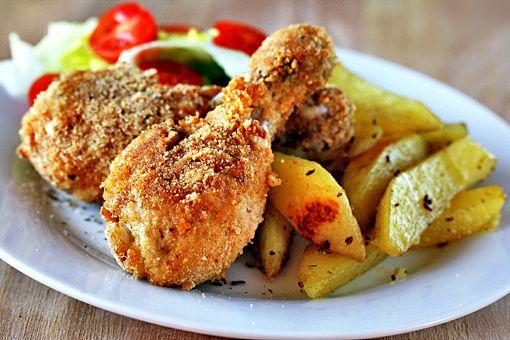 Crunchy Chicken Drumsticks