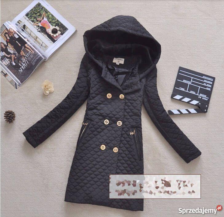 Płaszcz pikowany Chanel