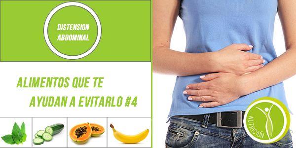 Distensión Abdominal ¿Qué alimentos te ayudan? #NutricionistaLima