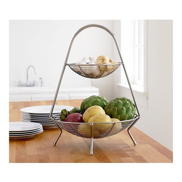 Kitchen Accessories 3 Tier Wire Fruit Basket: 25+ Best Ideas About Tiered Fruit Basket On Pinterest