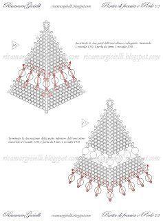 Tutorial Orecchini Punta di freccia e Perle - Ricamar Gioielli