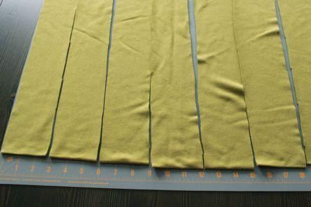 Making fabric yarn