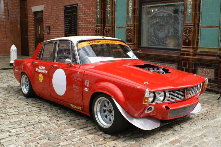 The V8 Owners Forum - :: View topic - Racing Rover P6