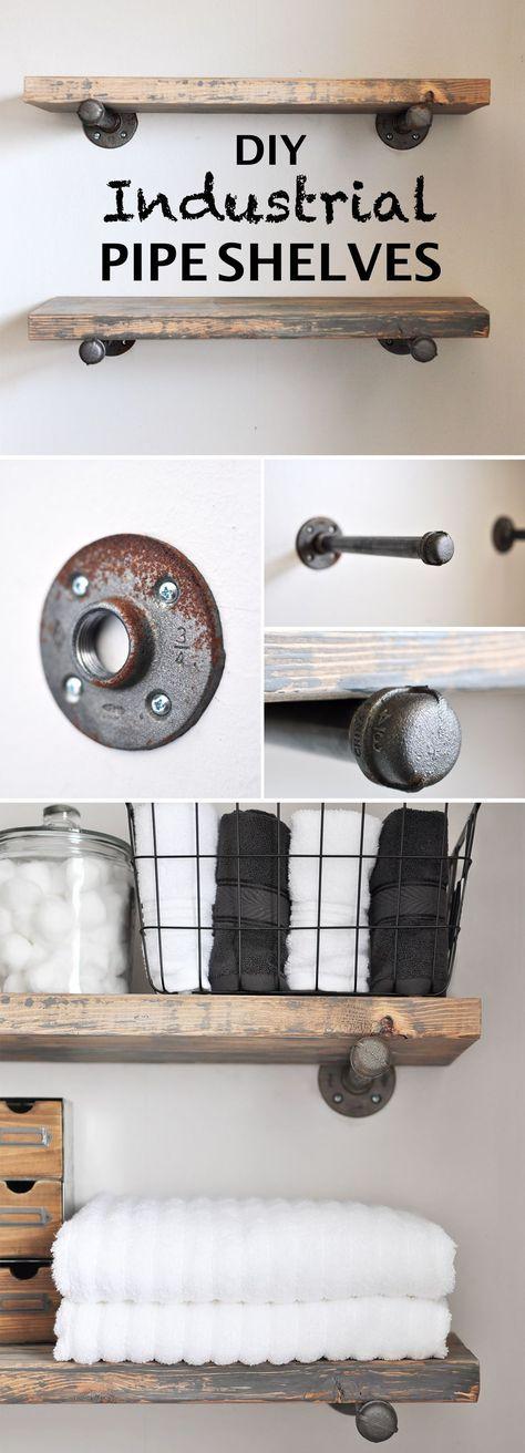 15 Brilliant DIY Regale, die Sie selbst bauen können – New room