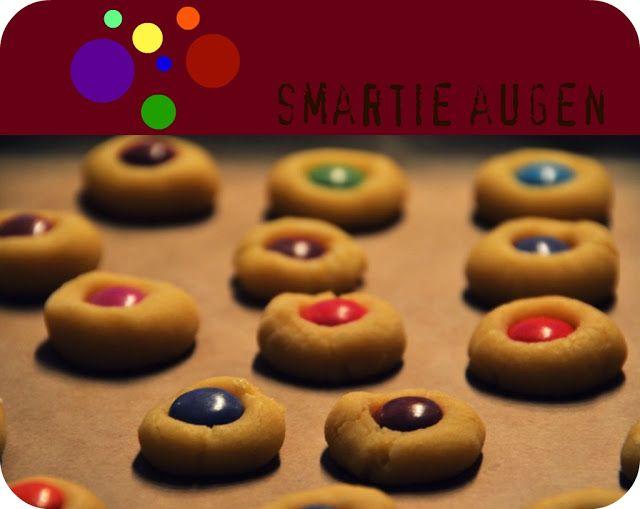 Smarties kekse olätzchen geburtstag