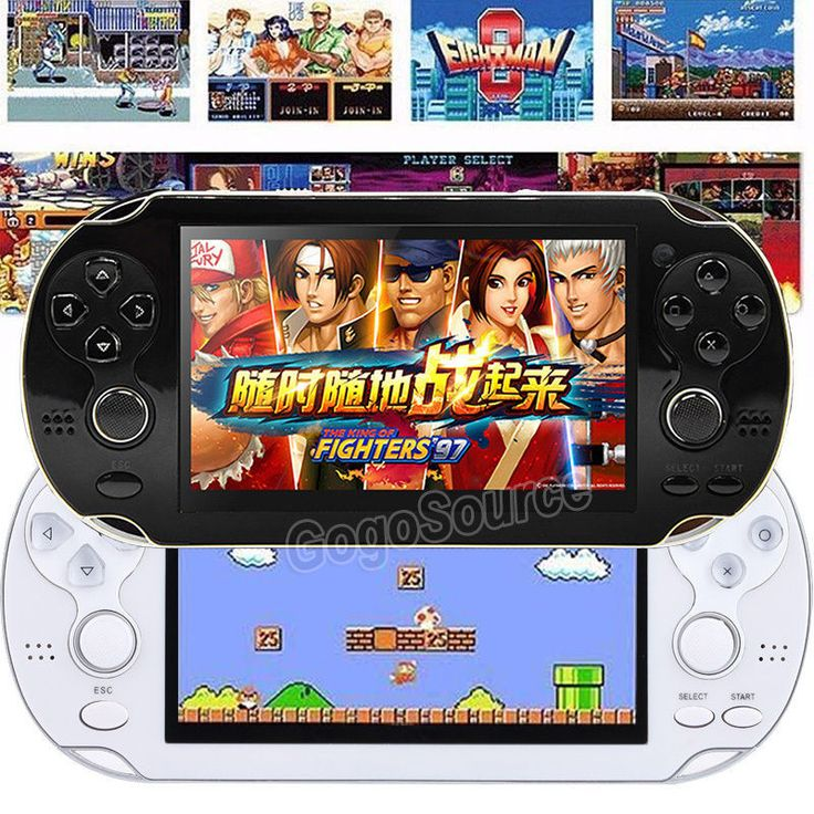 10000 Built-In Games Portable Handheld Game Player