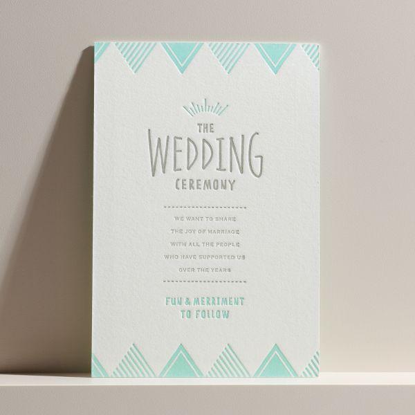 結婚式 招待状 Mint soda|LOUNGE WEDDINGの結婚式 招待状
