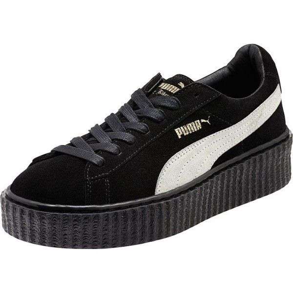Basket Puma By Rihanna Creeper Noir Star Blanc Noir