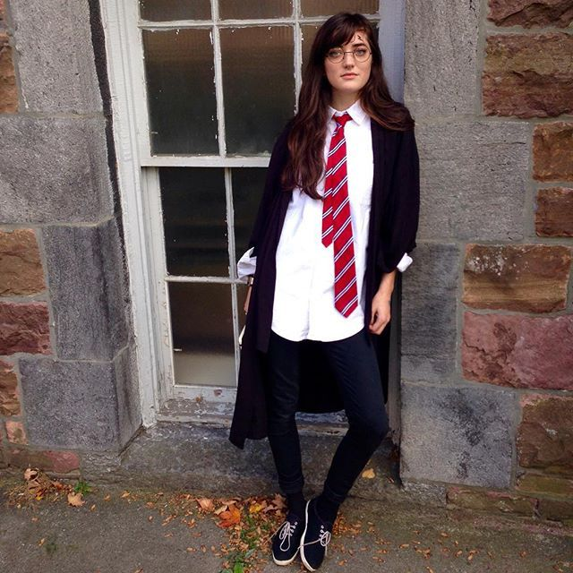 Pin for Later: Ladies! Check Out These 18 Office-Friendly Costume Ideas Harry Potter