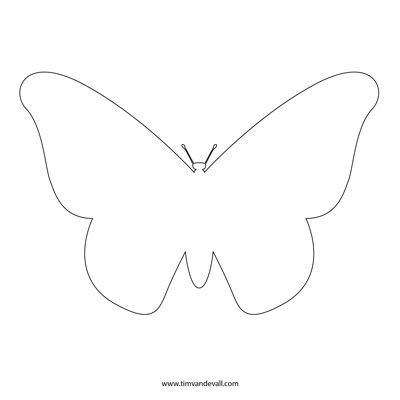 butterfly outline                                                                                                                                                                                 More