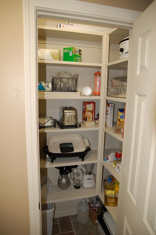 Converting A Small Coat Closet To A Pantry Dining Room