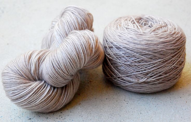 Hand dyed merino cashmere fingering yarn by RidgetopFibreStudio on Etsy