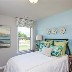 Guest space you'll love too, at Johnson Manor! New cottages and townhomes in Mooresville, NC by Benchmark Communities.